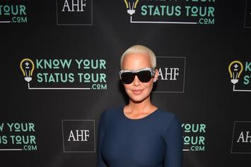 Amber Rose Meets Mystery Guy On Mother's Day In Miami