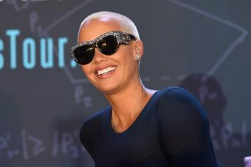 An Intruder Broke Into Amber Rose's Home; Stayed For Hours While She Slept