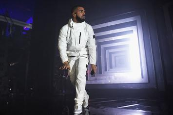 "Watch Drake Perform ""Gyalchester"" Inside Vegas'  Bellagio Fountains"