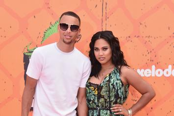 Steph Curry's Wife Ayesha Ends Cooking Show With Freestyle Rap