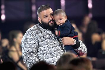 DJ Khaled Shares Video Of Son Asahd's First Trip To The Gym