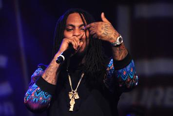 Waka Flocka Receives Birthday Cake Detailed Like His Watch