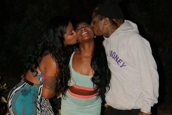 """Lil Wayne's Daughter Reginae Nearly Loses Cool Over """"Black Lives Matter"""" Quip"""