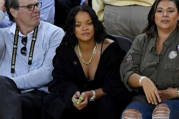 "Watch Rihanna Bow To LeBron James, Tells Fans ""The King Is Still King, Bitch"""