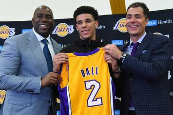 The Game Predicts Lonzo Ball Will Be An NBA Champion Next Year