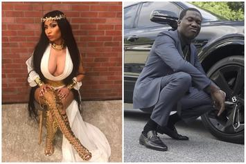 Nicki Minaj & Meek Mill Seem To Take Shots At Each Other On Instagram