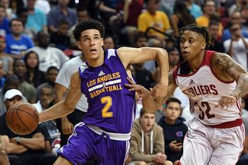 Lonzo Ball Ditches BBB Sneaker Again, Records Triple-Double