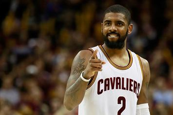 Kyrie Irving Calls Out Turnover-Prone Teammate During Pickup Game