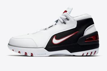 LeBron James' First Nike Sneaker To Re-Release This Week