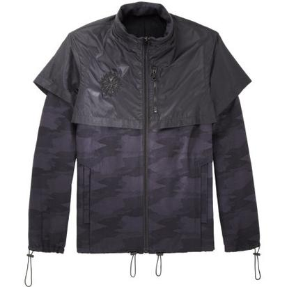 Roc Nation Nylon-Overlay Camo Field Jacket- $648