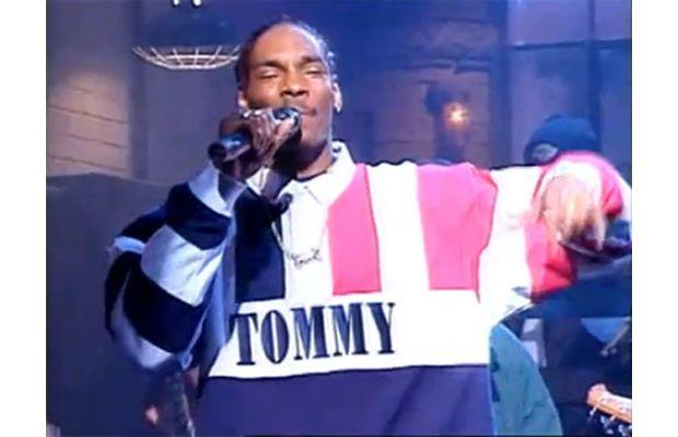 Snoop in Tommy Hilfiger