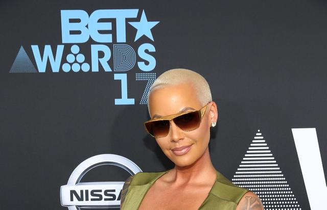 Amber Rose at the 2017 BET Awards at Staples Center on June 25, 2017 in Los Angeles, California.
