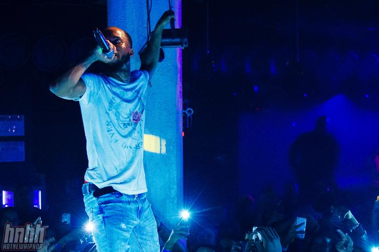 Tory Lanez at Santos House Party