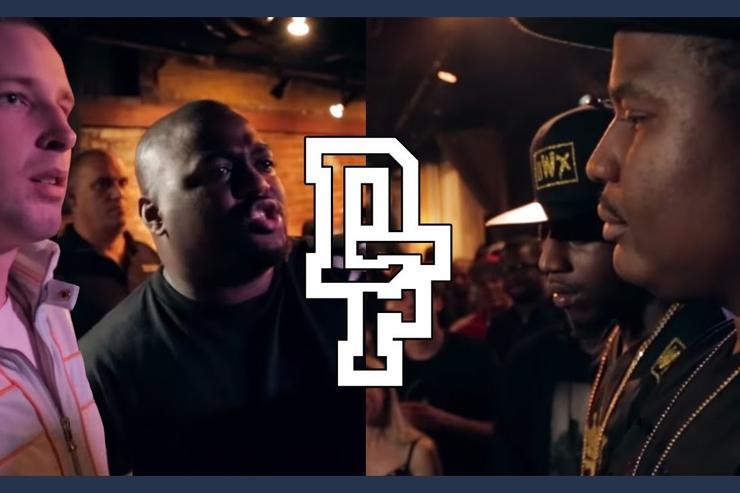 Charron & 100 Bulletz vs. DNA & K-Shine
