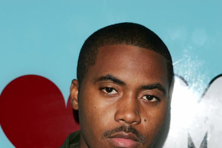 Nas at MTV TRL in 2004