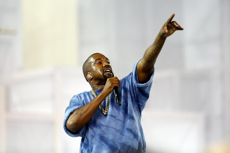 Kanye West at Toronto Pan Am games 2015