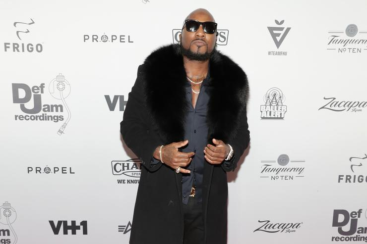Jeezy at Def Jam holiday party