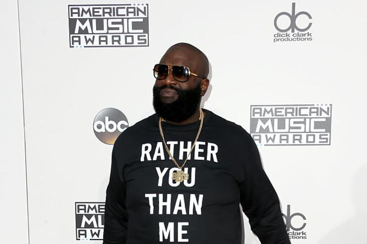 Rick Ross will name his new album Rather You Than Me.