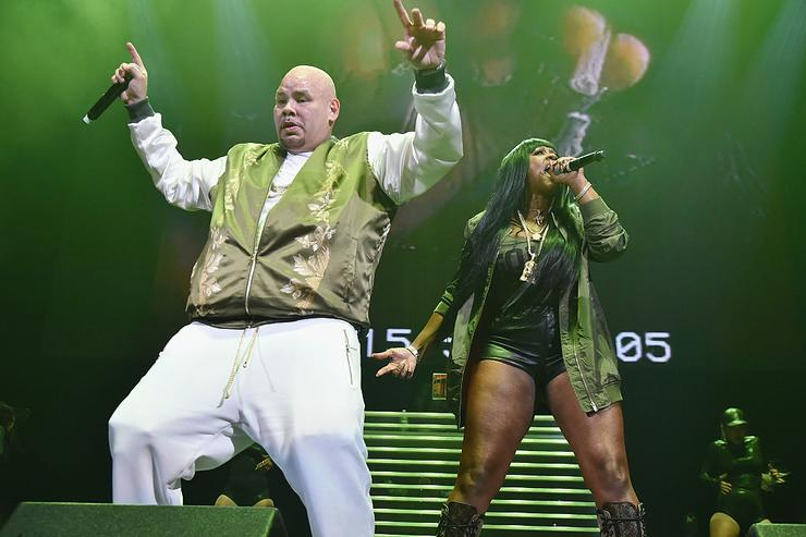 Rappers Fat Joe and Remy Ma perform onstage during Power 105.1's Powerhouse 2016 at Barclays Center on October 27, 2016 in New York City.