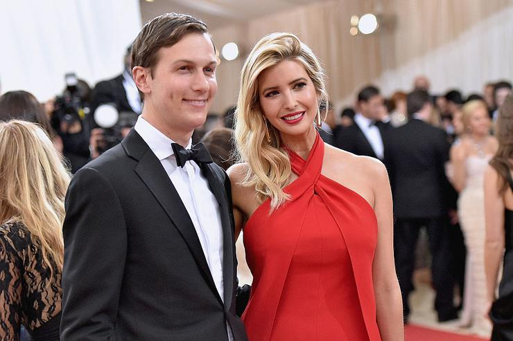 Jared Kushner and wife Ivanka Trump attend the 'Manus x Machina: Fashion In An Age Of Technology' Costume Institute Gala at Metropolitan Museum of Art on May 2, 2016 in New York City.