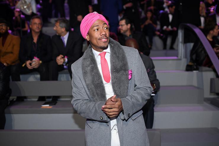 Nick Cannon attends the 2016 Victoria's Secret Fashion Show on November 30, 2016 in Paris, France.