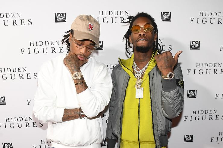 Migos at the Hiden Figures soundtrack listening party.