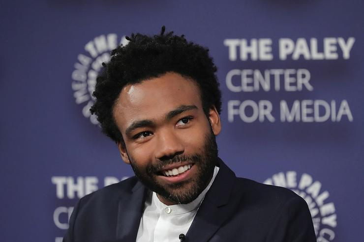 Donald Glover speaks onstage at the 'Atlanta' New York Screening at The Paley Center for Media on August 23, 2016 in New York City.