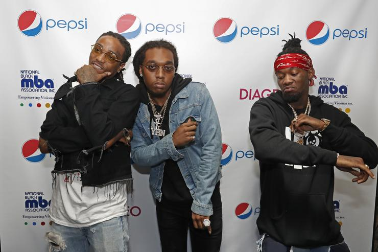 Migos at Pepsi sponsored MBA Live event.