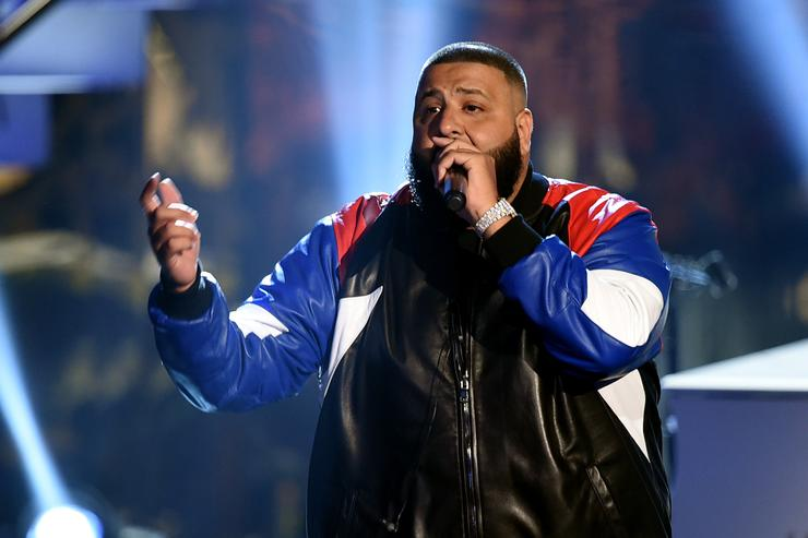 DJ Khaled performing at 2016 American Music Awards.