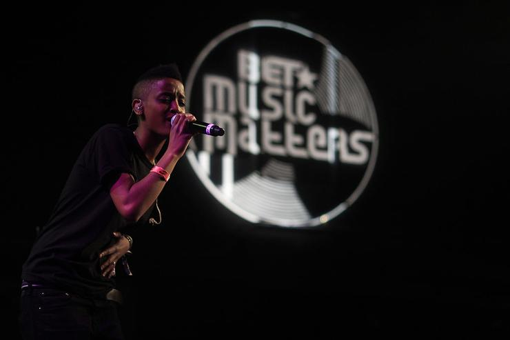 Syd Tha Kyd of The Internet performs at BET Music Matters Showcase during SXSW 2014 at Emo's on March 13, 2014 in Austin, Texas. at Emo's on March 13, 2014 in Austin, Texas.
