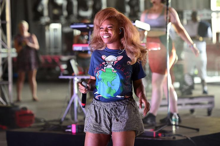 SZA performs onstage at the 2016 Panorama NYC Festival - Day 3 at Randall's Island on July 24, 2016 in New York City.