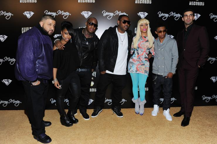 Members of Cash Money Records at the Grammy's in 2011.