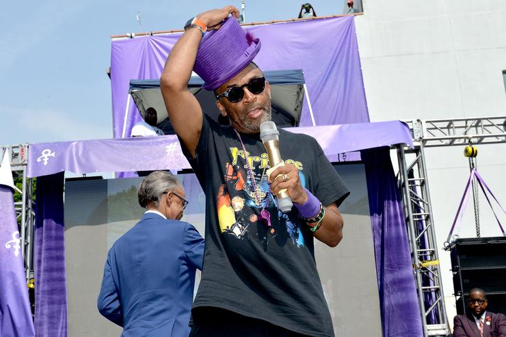Spike Lee throws Prince a birthday bash with Moet & Chandon.