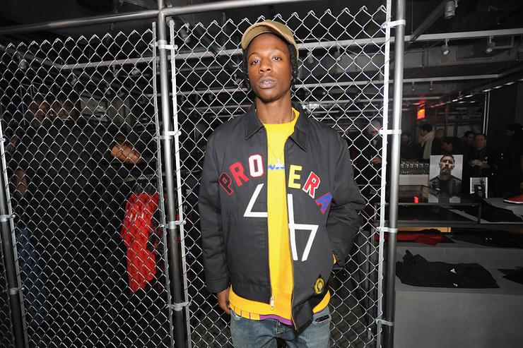 Joey Bada$$ attends the adidas New York Flagship Preview Party on November 29, 2016 in New York City.