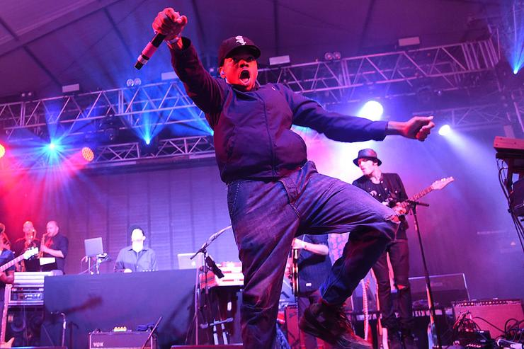 Chance the Rapper performs on the 'Other' stage during the 2015 Bonnaroo Music & Arts Festival on June 13, 2015 in Manchester, Tennessee.