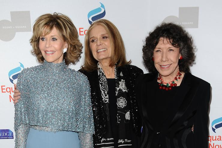 """Gloria Steinem at Equality Now's 3rd annual """"Make Equality Reality"""" gala."""