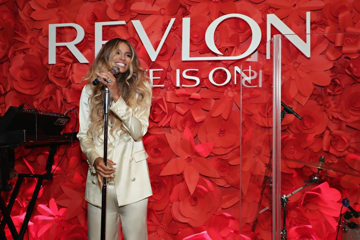Ciara at Revlon Global Ambassador launch event.