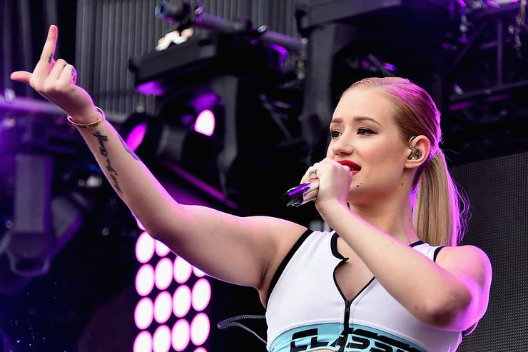 Iggy Azalea performs at the Perry's stage during 2014 Lollapalooza Day One at Grant Park on August 1, 2014 in Chicago, Illinois.