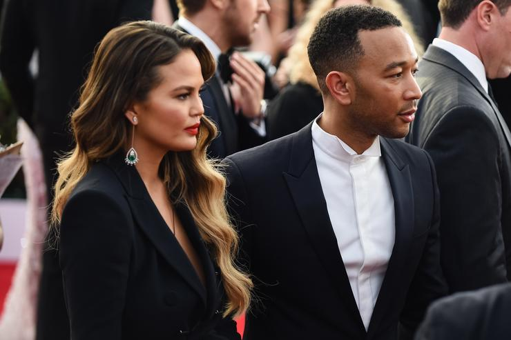 John Legend at 23rd annual Screen Actors Guild awards.
