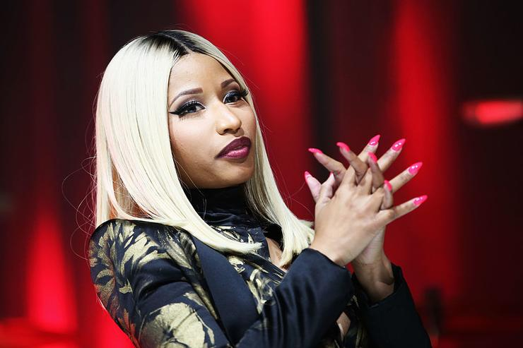 Nicki Minaj onstage at the 2013 BMI R&B/Hip-Hop Awards at Hammerstein Ballroom on August 22, 2013 in New York City.