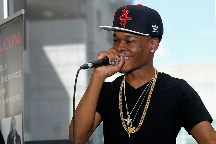 Hurricane Chris performs at Vibes Lounge on September 20, 2014 in Atlanta, Georgia.
