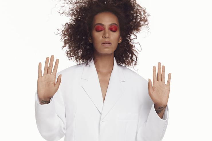 Solange Knowles Covers ELLE Magazine.