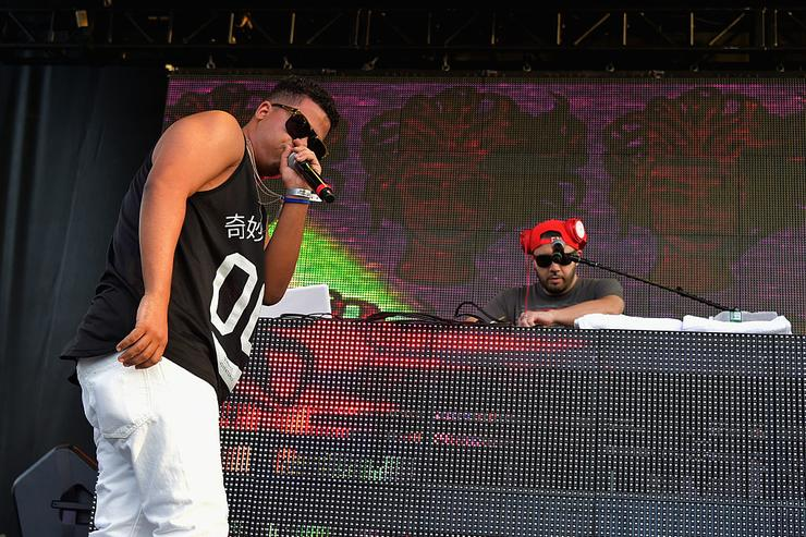 Makonnen Sheran aka ILoveMakonnen performs during Billboard Hot 100 Festival - Day 2 at Nikon at Jones Beach Theater on August 23, 2015 in Wantagh, New York.