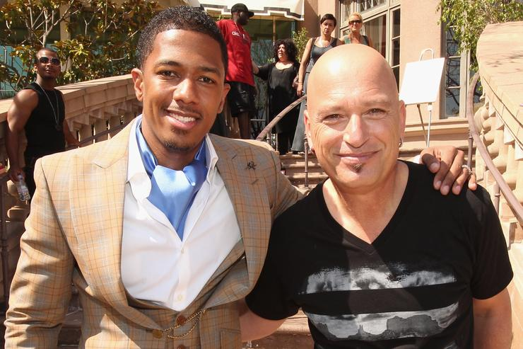 Nick Cannon Howie Mandel