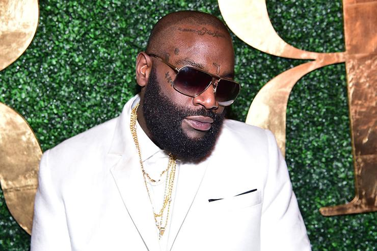 Rick Ross attends Rick Ross' 40th Birthday Celebration on January 28, 2016 in Fayetteville, Georgia.