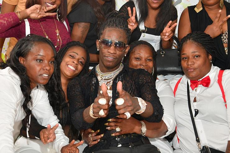 Young Thug attends His 25th Birthday Celebration and PUMA Campaign on August 15, 2016 in Atlanta, Georgia.