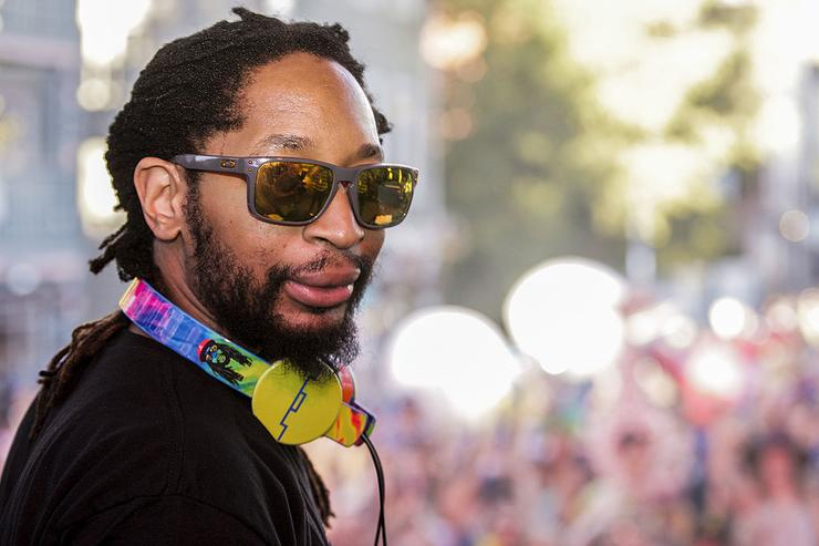 Lil Jon performs during the Whatever Welcome Parade at Bud Light's Whatever, USA on September 5, 2014 in Crested Butte, Colorado.
