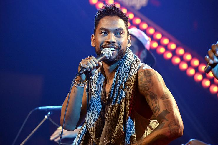 Miguel performs on The Honda Stage at the iHeartRadio Theater on July 17, 2015 in Burbank, California.