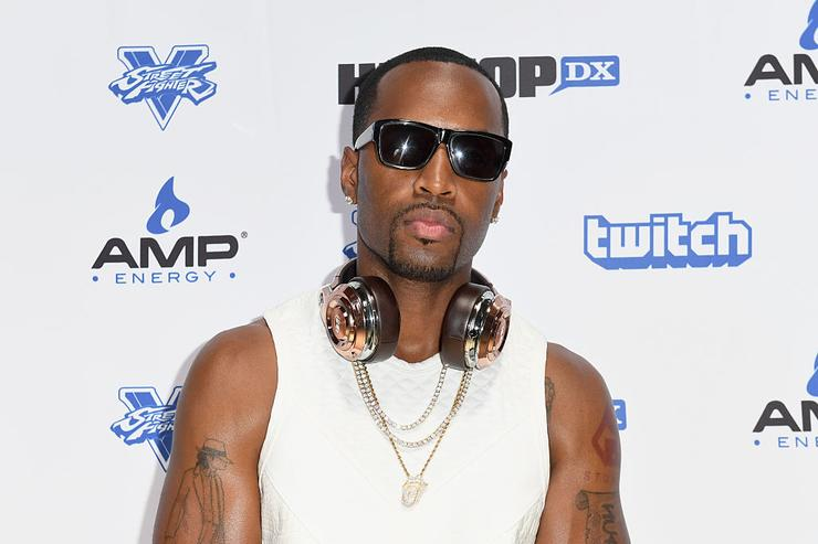 Safaree Samuels attends Next Level Presented By AMP Energy, A Hip Hop Gaming Tournament at Rostrum Records on June 23, 2016 in Los Angeles, California.