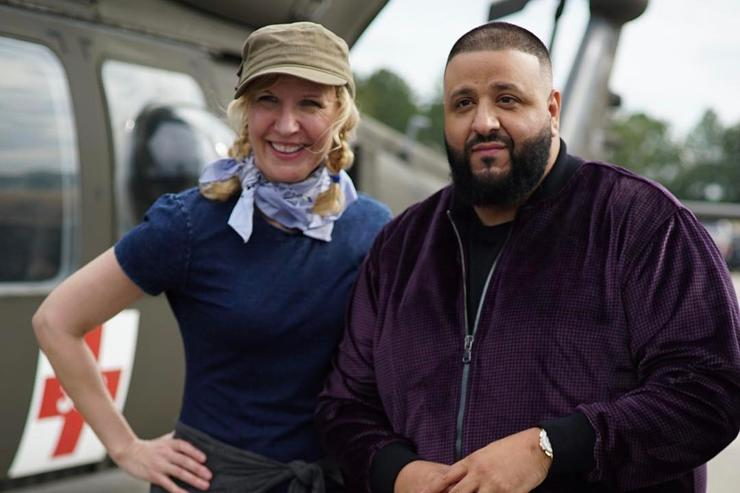 DJ Khaled & director